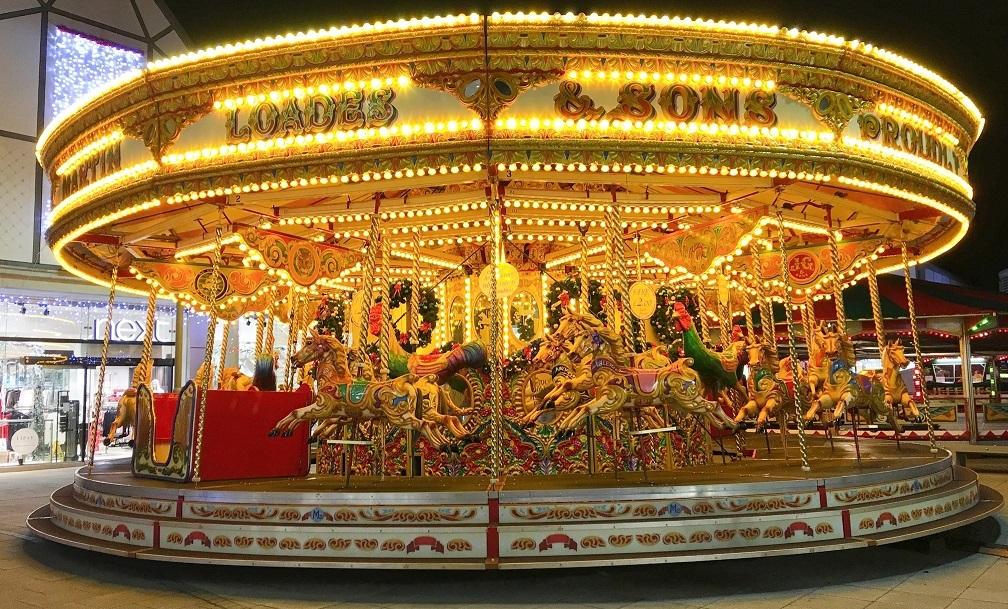 Dodgems & Christmas Carousel