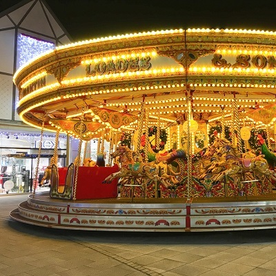 Christmas Carousel at the arc shopping centre
