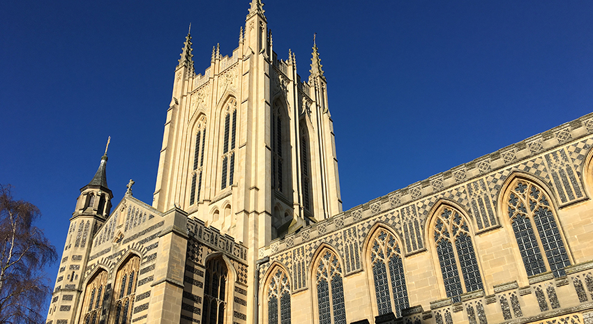 Cathedrals Cycle Route Comes to Bury St Edmunds