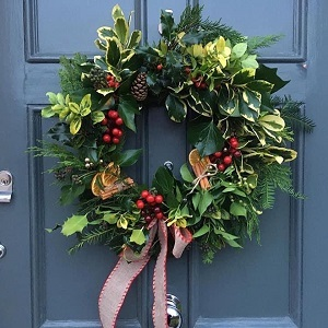 Christmas Wreath Making with Crafty Foxes