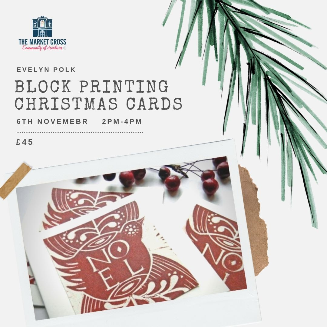 Weekend Creatives - Block Printing Christmas Cards with Evelyn Polk