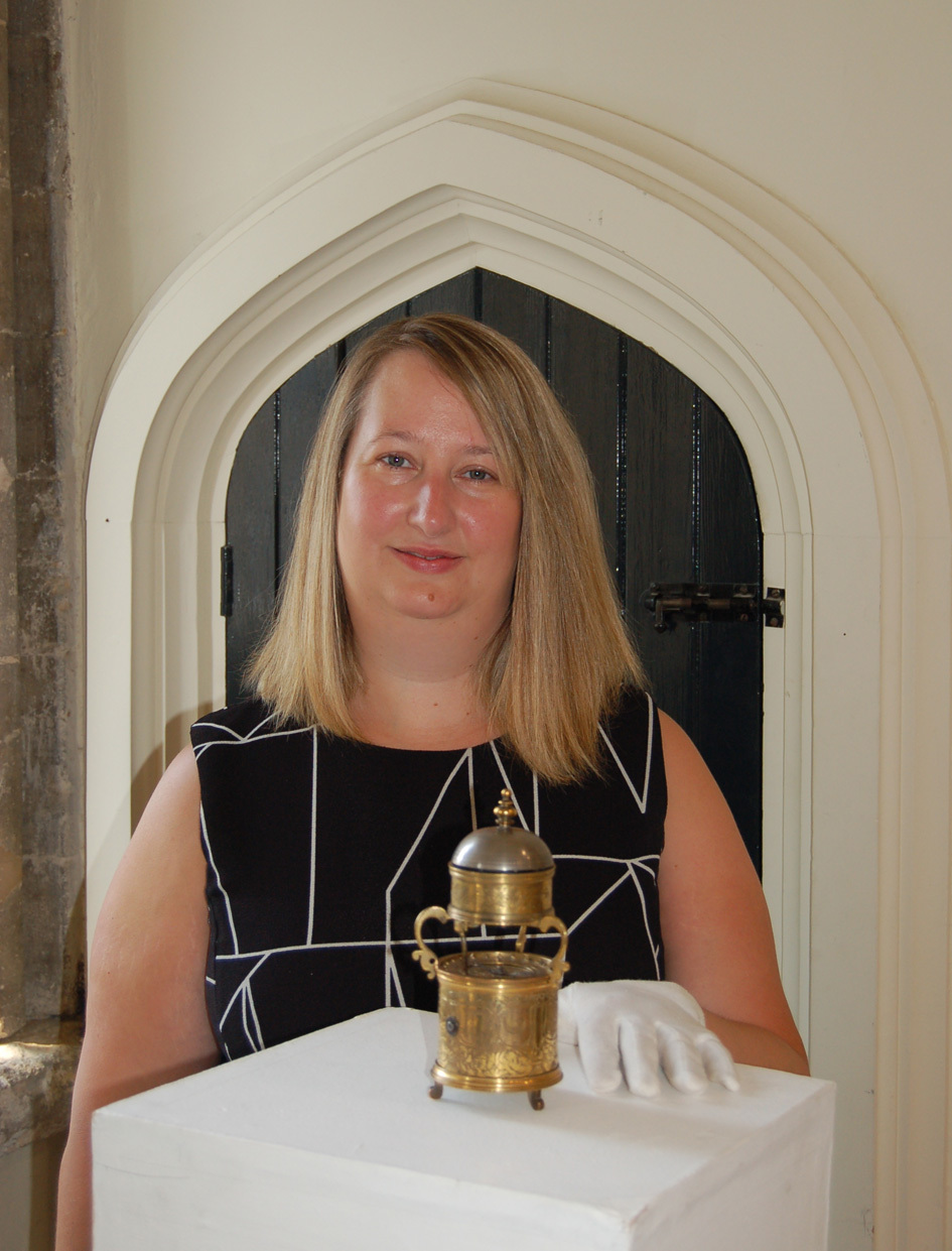 500 year old stolen time piece back on display in Bury St Edmunds