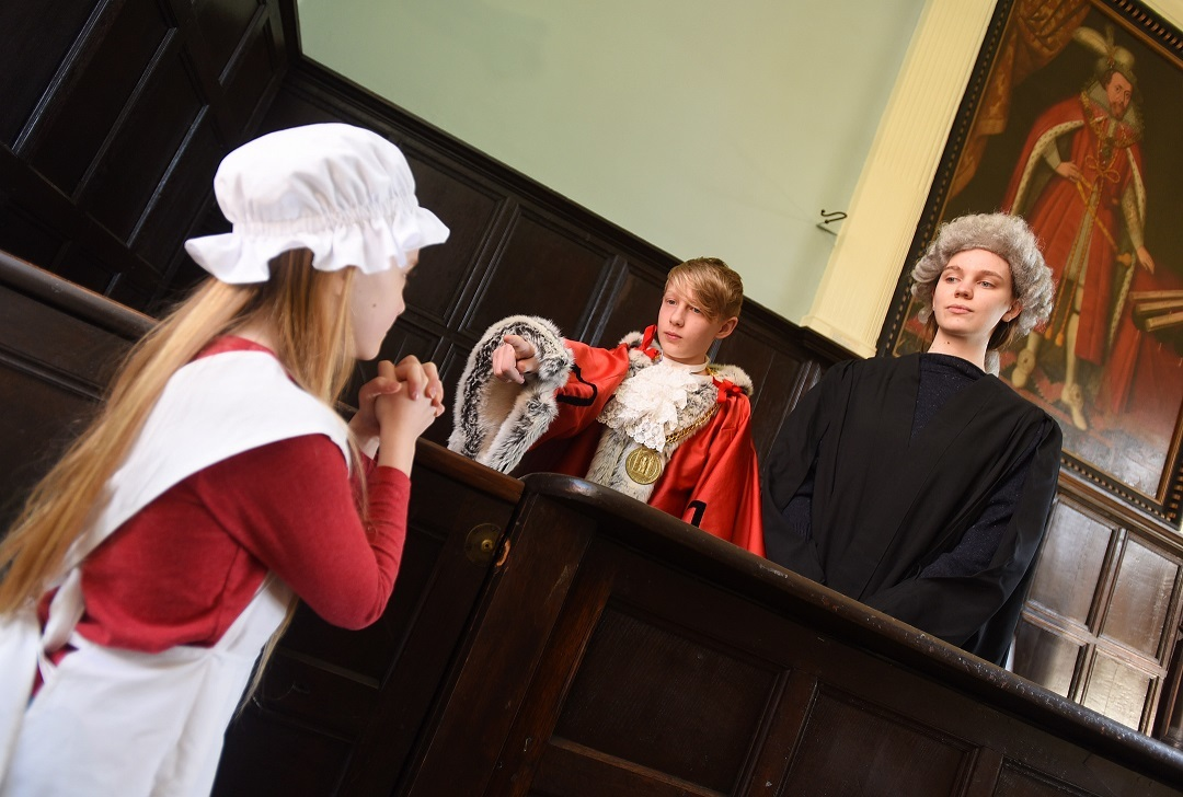 Travel Through Time at Bury St Edmunds Guildhall
