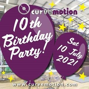 CurveMotion 10th Birthday Party