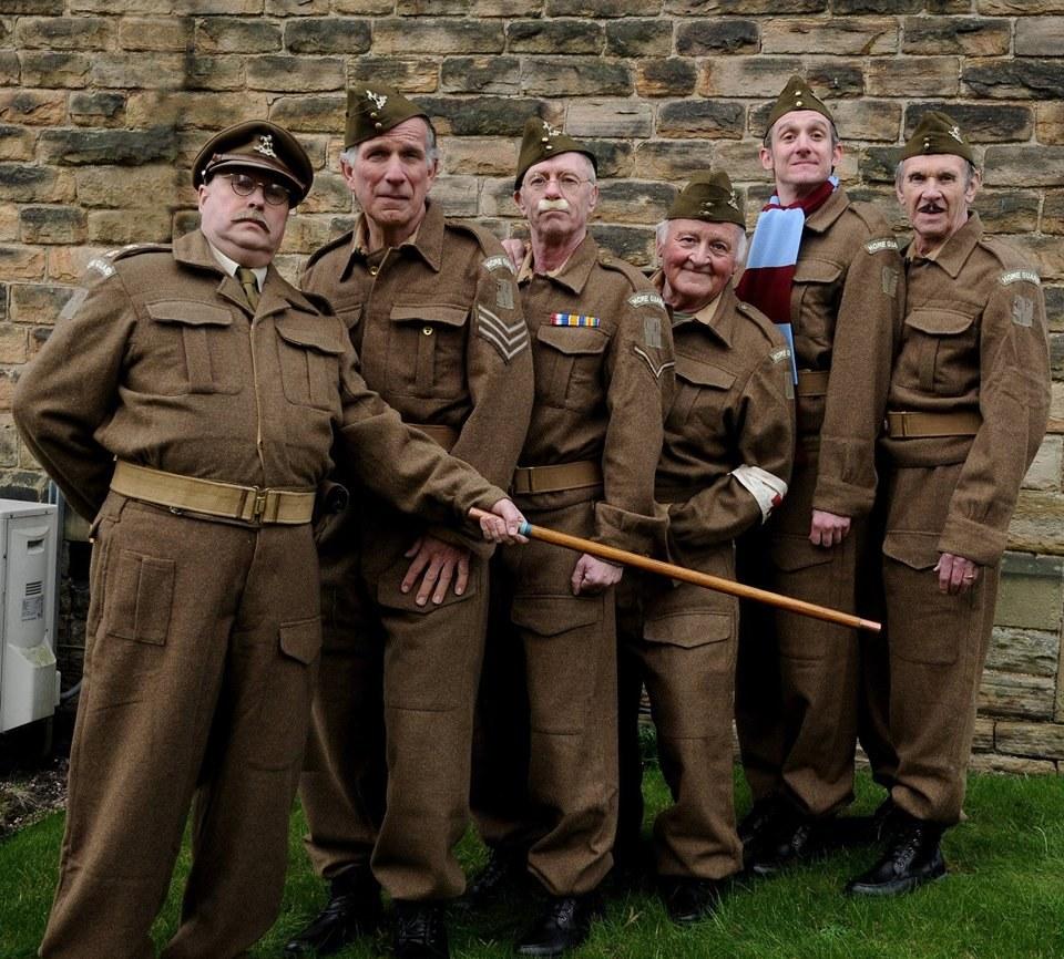Dad's Army Still Alive - 50th Anniversary at historic Holy Trinity Church Long Melford