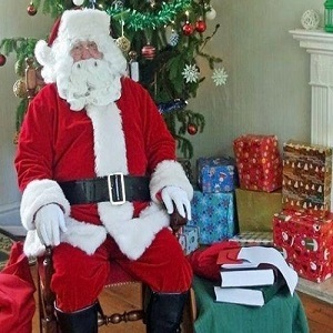 Father Christmas at Nowton Park