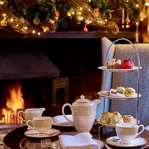Festive Afternoon Tea at The Swan Lavenham