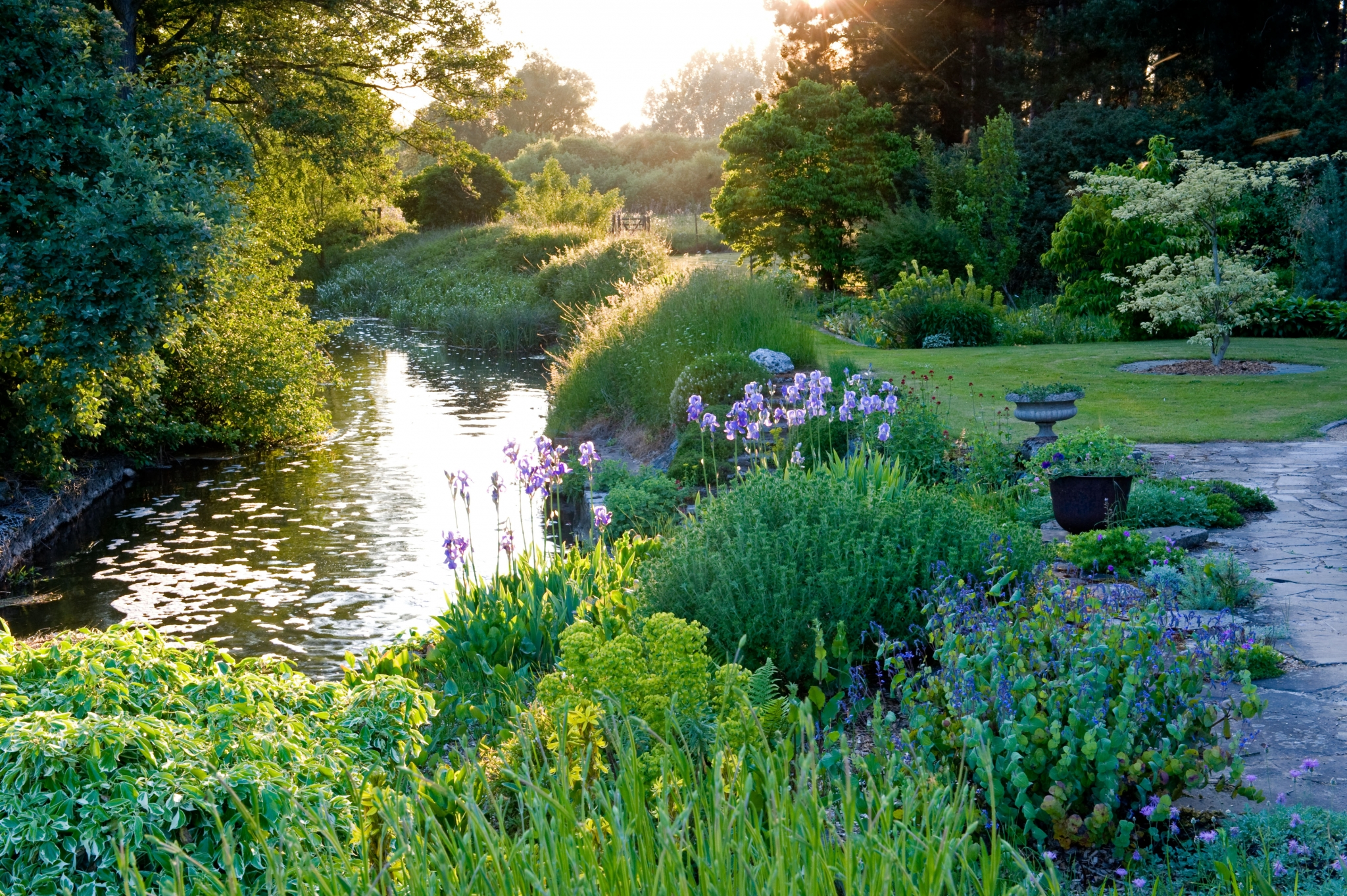 National Gardens Scheme open day Fullers Mill Garden