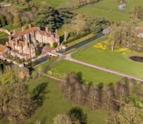 Kentwell Hall Garden Tour of with Judith Phillips