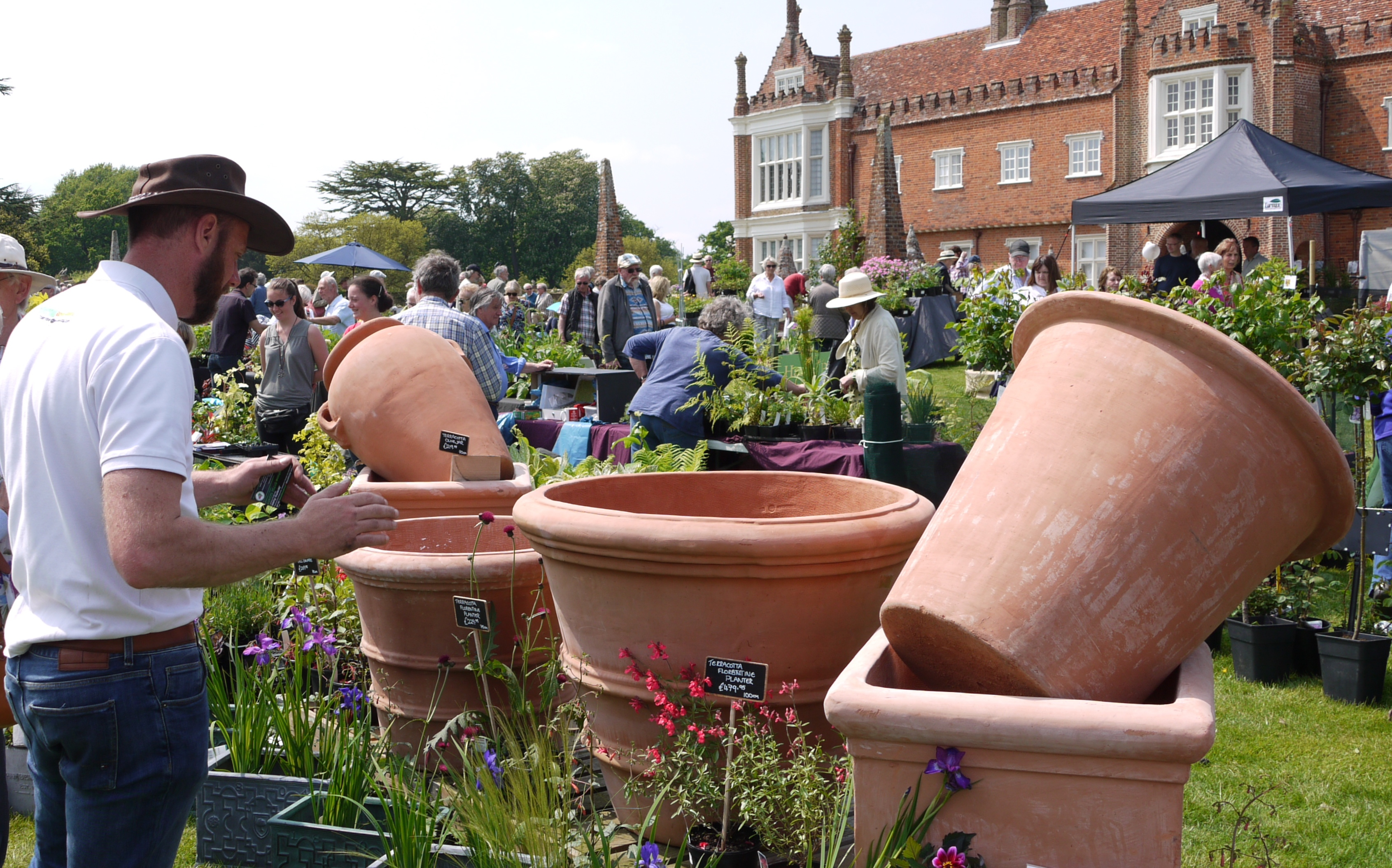 Helmingham Hall Gardens Spring Plant Fair with Artisan Market