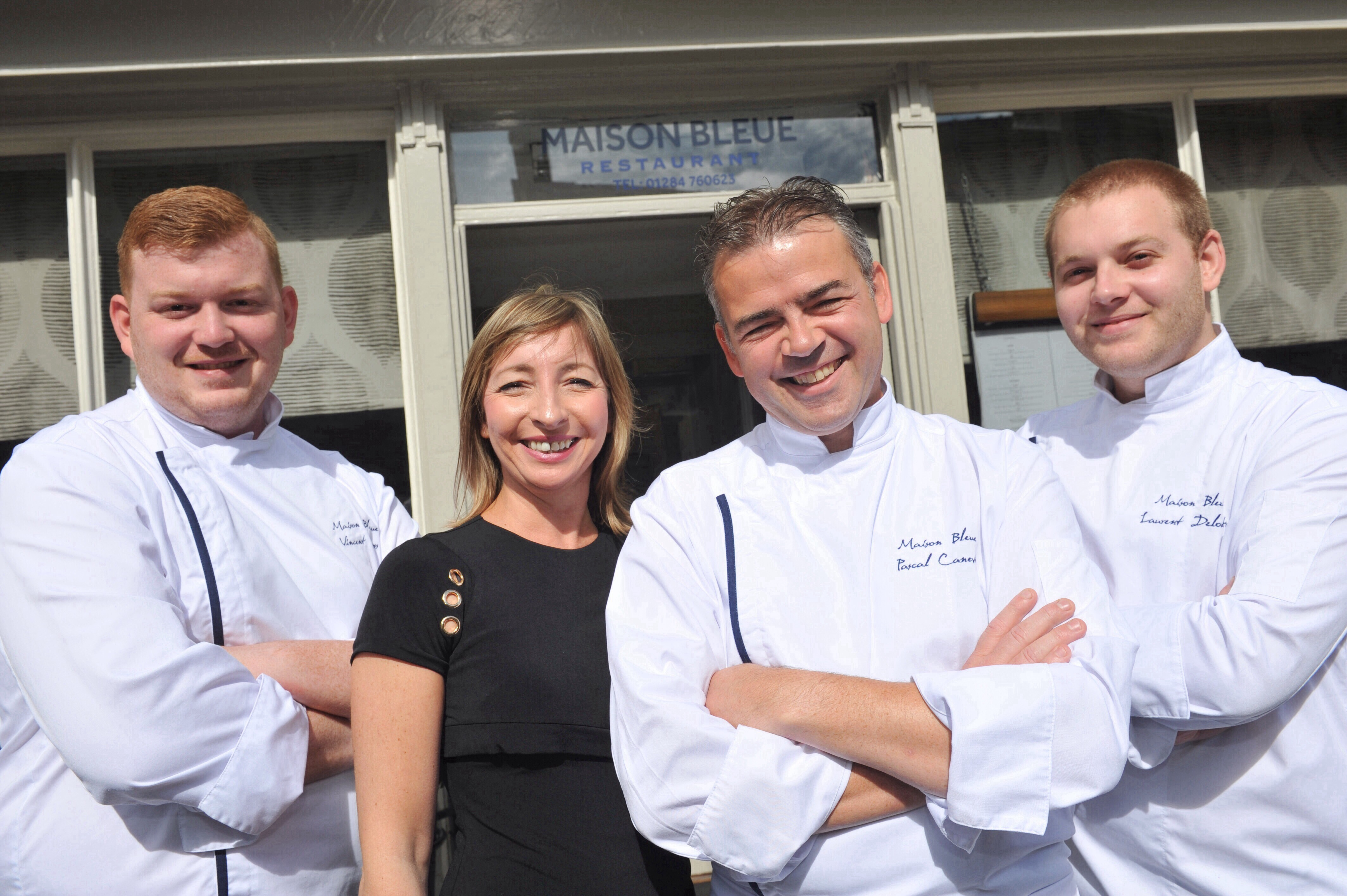 Double accolade as Maison Bleue puts Suffolk on Global Culinary Map