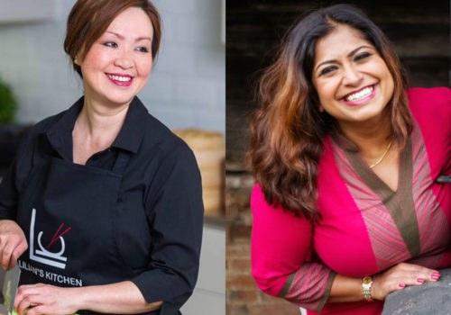 Live Food Theatre with Lilian Hiw and Masterchef's Saira Hamilton