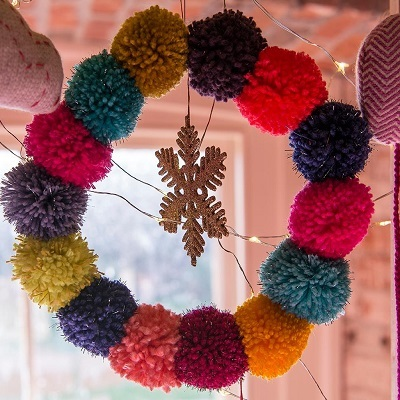 Craft fair at Christmas with the March Hare Collective at Ickworth