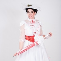 Meet Mary Poppins and Bert