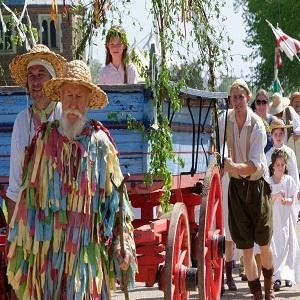 Tudor May Day Festival at Kentwell Hall