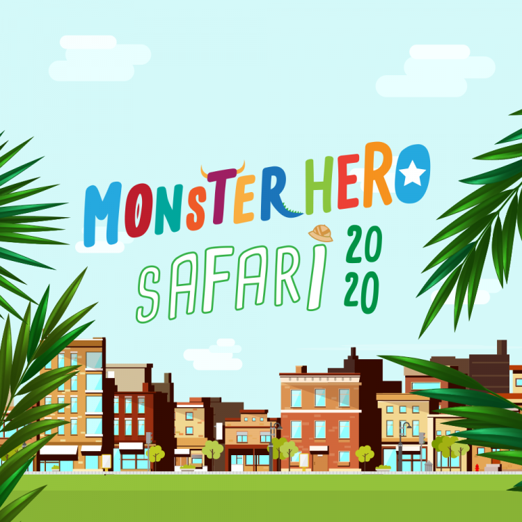 Bury St Edmunds Monster Hero Safari 2020