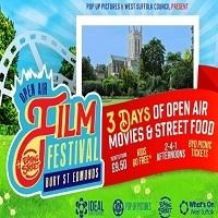 Open Air Film Festival in the Abbey Gardens