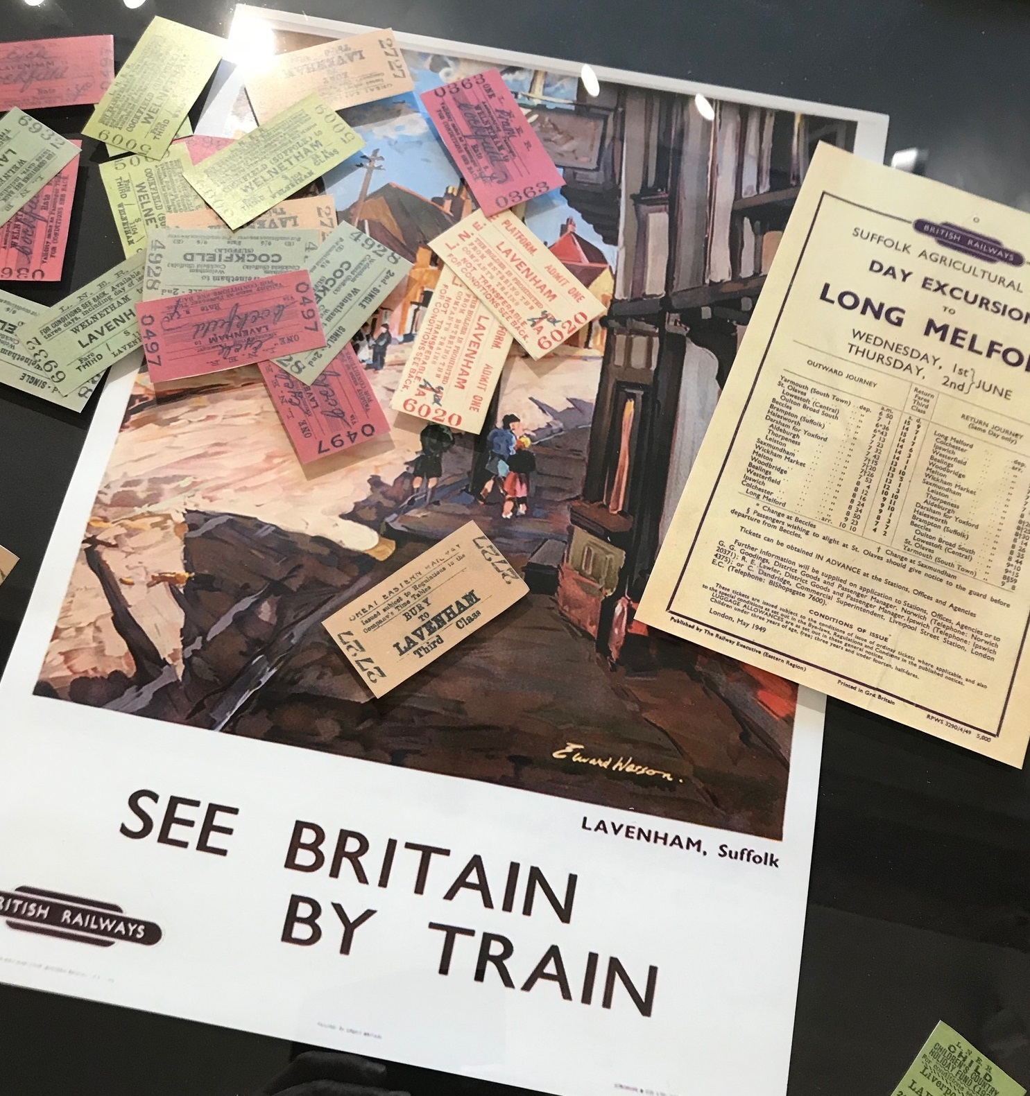 Lavenham's Century of the Railway Exhibition - until February 28 2020