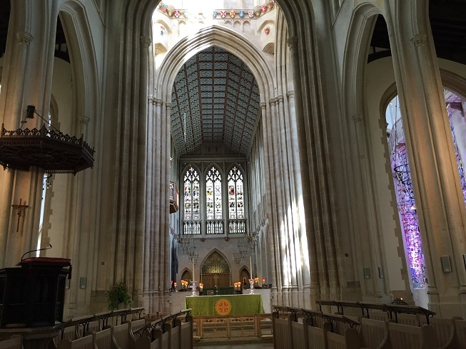 Exhibition of Abbey Manuscripts in Cathedral Treasury