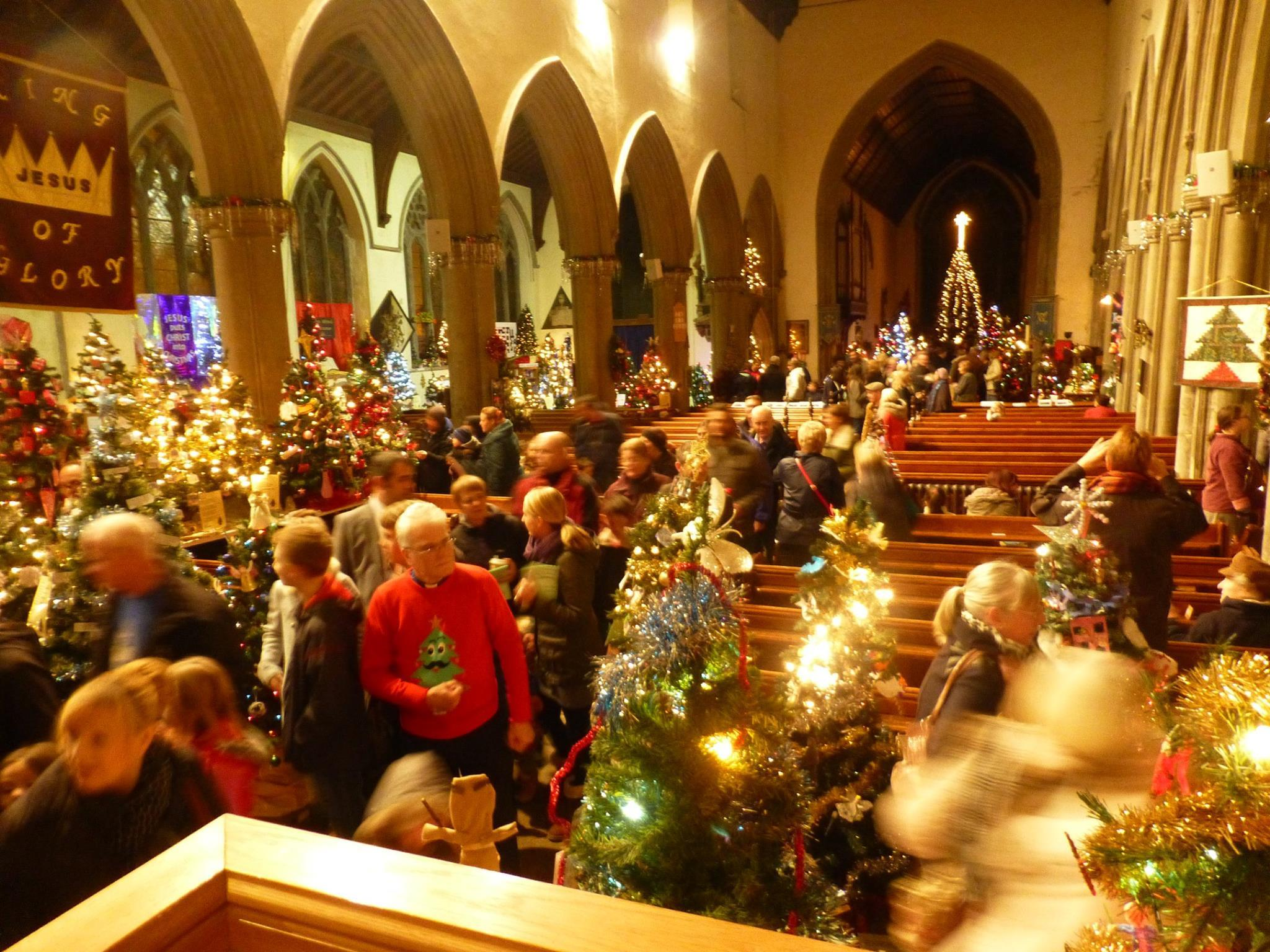 Stowmarket Christmas Tree Festival - until December 5