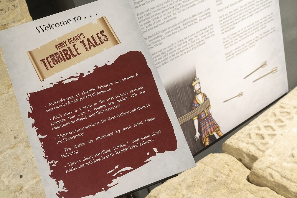 Horrible Histories Creator Brings Bury St Edmunds Museum's Terrible Tales To Life