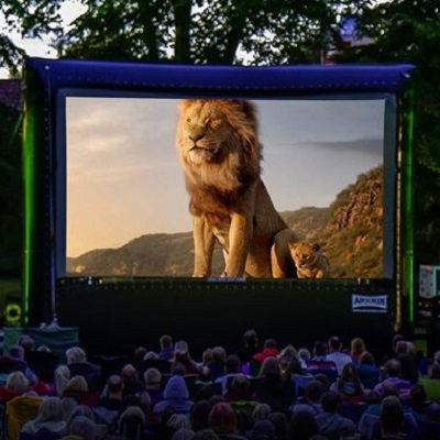 Outdoor Cinema: The Lion King