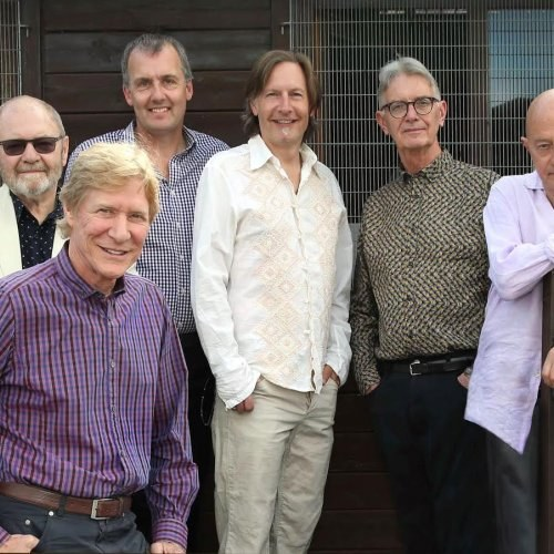 The Manfreds at St Peter and St Paul's Church in Lavenham