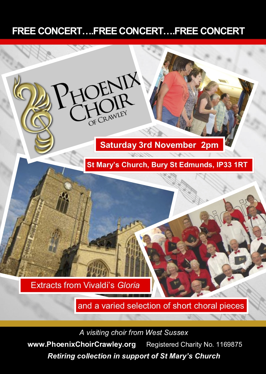 Phoenix Choir of Crawley at St Mary's Church