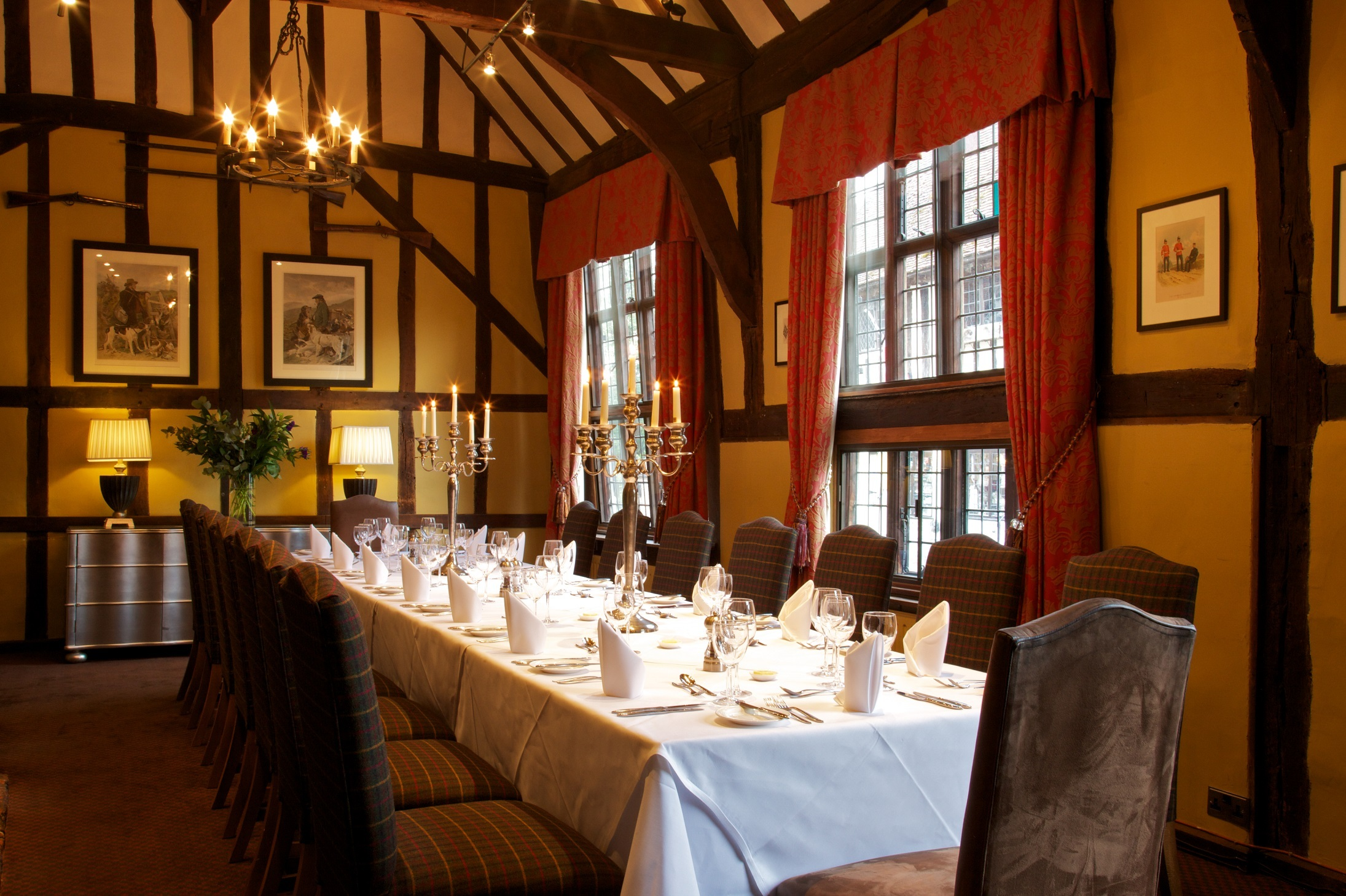 Enjoy autumn wine tasting dinners in historic Lavenham