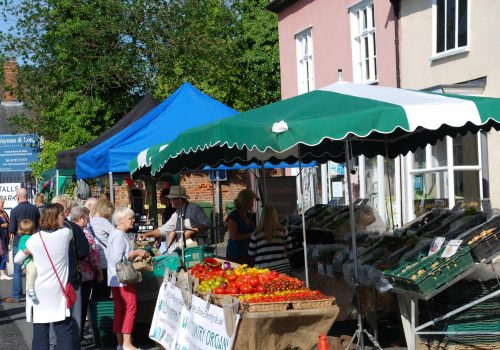 Clare market returns following winter break