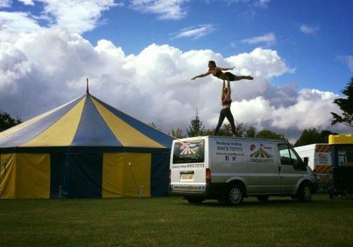 Circus Petite at Nowton Park