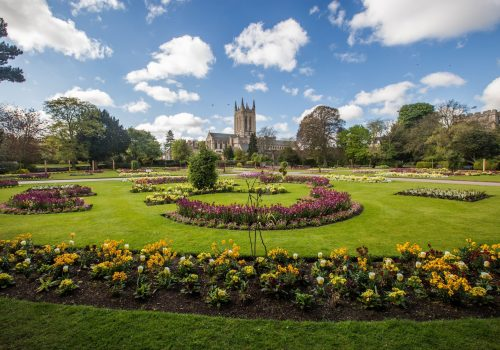 Abbey Gardens improvements to offer more to visitors