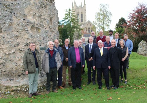 Ancient Abbey of St Edmund project gains crucial Lottery funding.