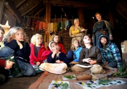 As Winter Approaches at West Stow Anglo Saxon Village - October 22-28