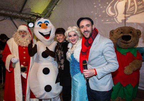 Bury St Edmunds Christmas Lights Switch On