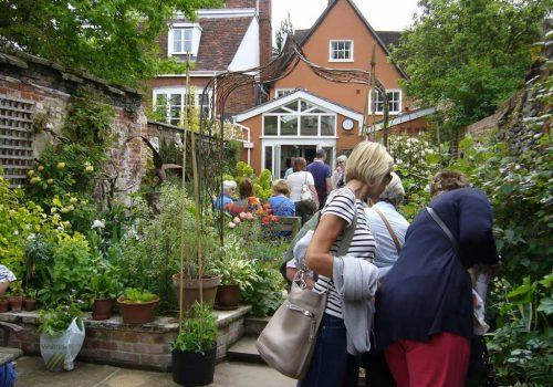 Bury St Edmunds Hidden Gardens
