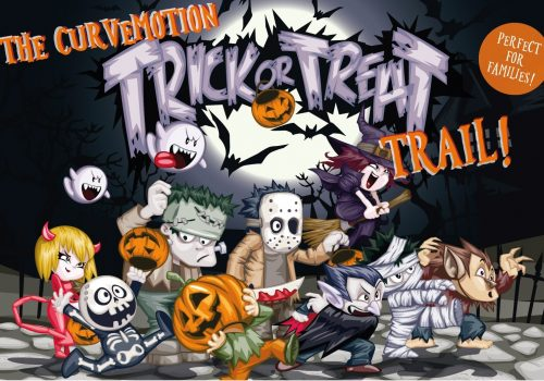 Hallowe'en Trick or Treat Trail at CurveMotion
