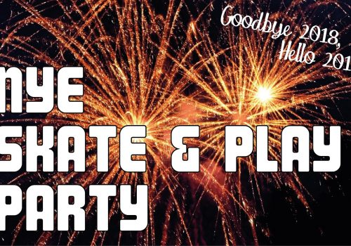 New Year's Eve Skate & Play Party at CurveMotion
