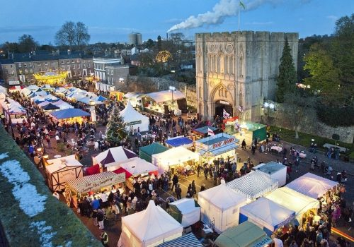 Bury St Edmunds Christmas Fayre 2019 - November 21-24