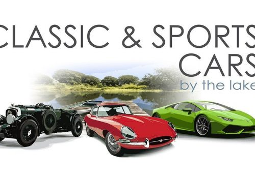 Classic and Sports Cars By The Lake