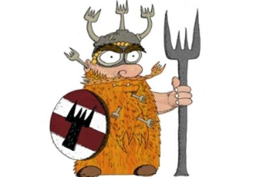 Forkbeard and the Ghost King!