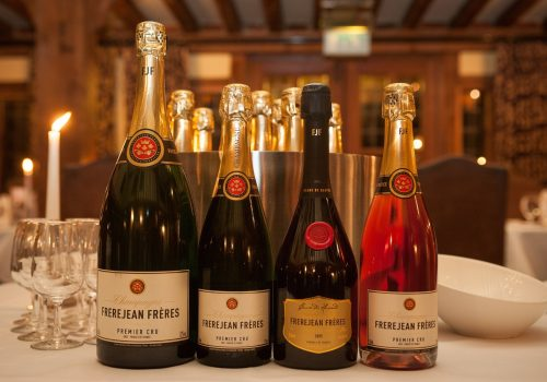 Enjoy a Gourmet Champagne Dinner at The Swan