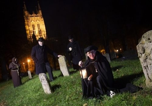 Bury St Edmunds Ghostly and Macabre Tour - every other Friday until March 22