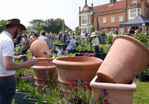 Helmingham Hall Gardens Spring Plant Fair with Artisan Market