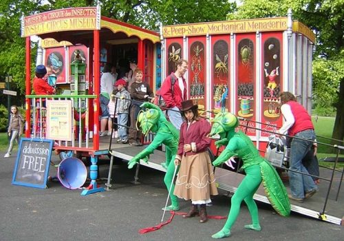 The Astounding Insect Circus Museum