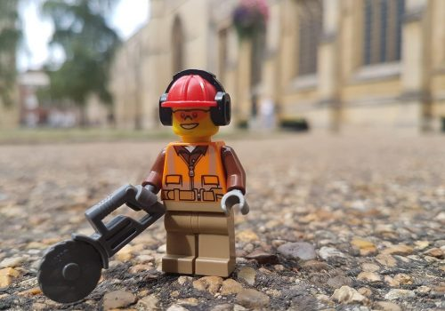Visitors Donate 50,000 Bricks to Replica Cathedral LEGO Project