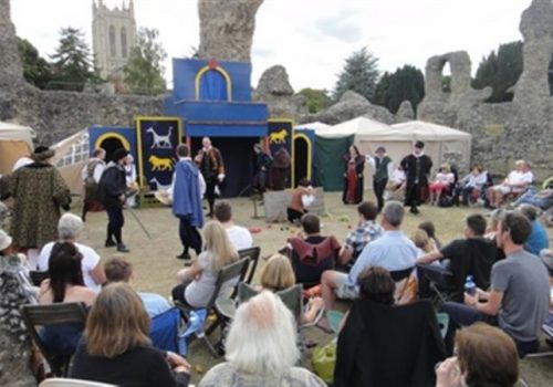 Merchant of Venice in the Abbey Gardens - 31 July - 4 August