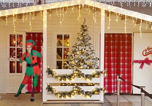 Meet Santa and his Elves at his Festive Grotto in Charter Square Bury St Edmunds From 2 - 24 December