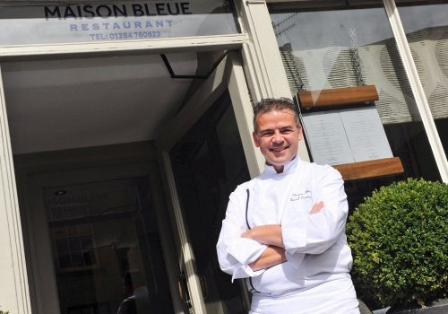 Double accolade for Bury St Edmunds' Restaurant Maison Bleue