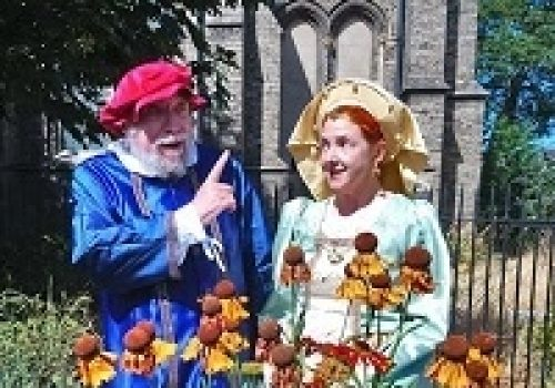 Shakespeare in the Abbey Gardens: A Midsummer Night's Dream - July 9-13